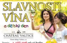 Podzimni slavnosti vina Chateau Valtice Vinne sklepy Valtice 03092016